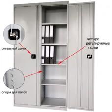 Металлические шкафы для офиса, гаража, производства.